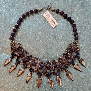 Handmade Collar Necklace by Sudha - Made in India